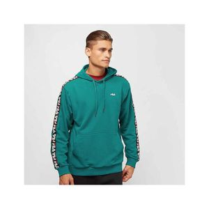 SWEATSHIRT Sweat Capuche Fila David Taped Hooded Sweat Vert B