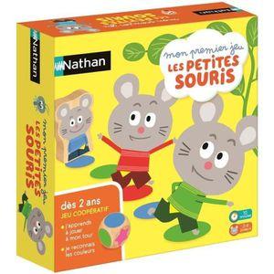 JEU D'APPRENTISSAGE NATHAN - Mon Premier Jeu les Petites Souris - Jeu