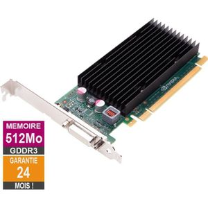 CARTE GRAPHIQUE INTERNE Carte graphique Nvidia Quadro NVS300 512Mo GDDR3 P