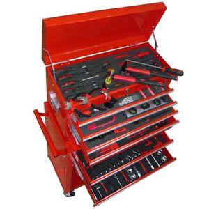 DESSERTE CHANTIER Servante d'Atelier à Outils Chariot à outils avec