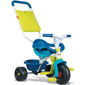 POUSSETTE  SMOBY Tricycle Enfant Evolutif Be Fun Confort Bleu
