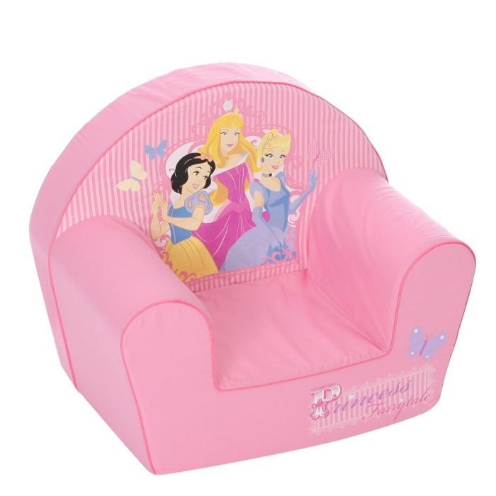 pin fauteuil canap b b disney princesses fauteuil rose on pinterest. Black Bedroom Furniture Sets. Home Design Ideas