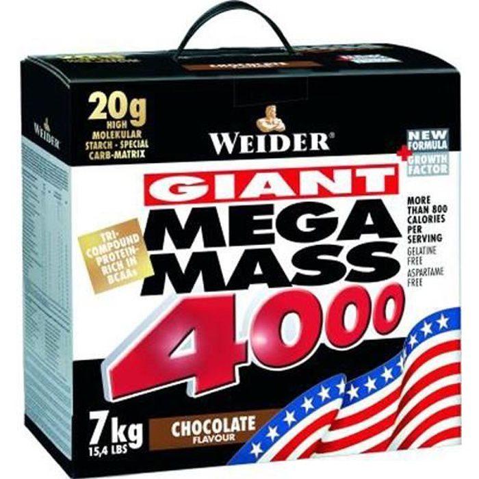 Weider Nutrition Mega Mass 4000 Vanilla 7000g
