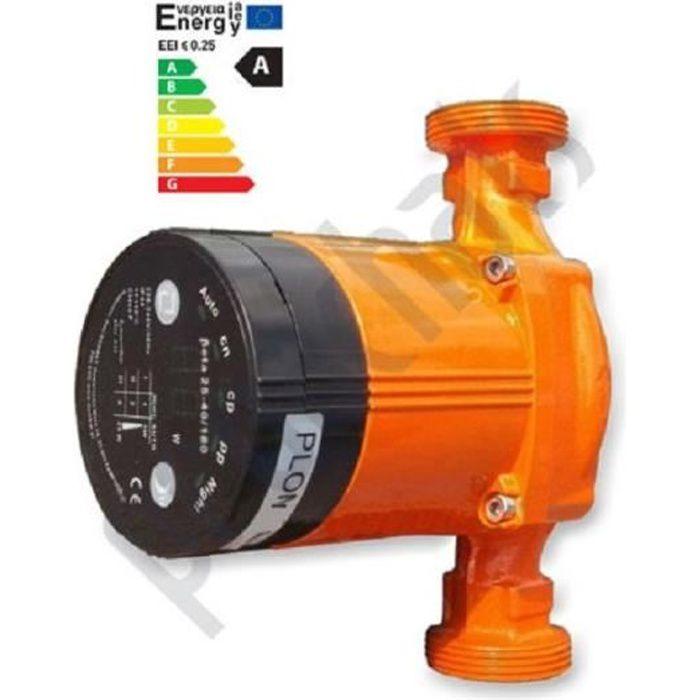 Circulateur électronique BETA 25-60/130 pour chauffage central CLASSE A
