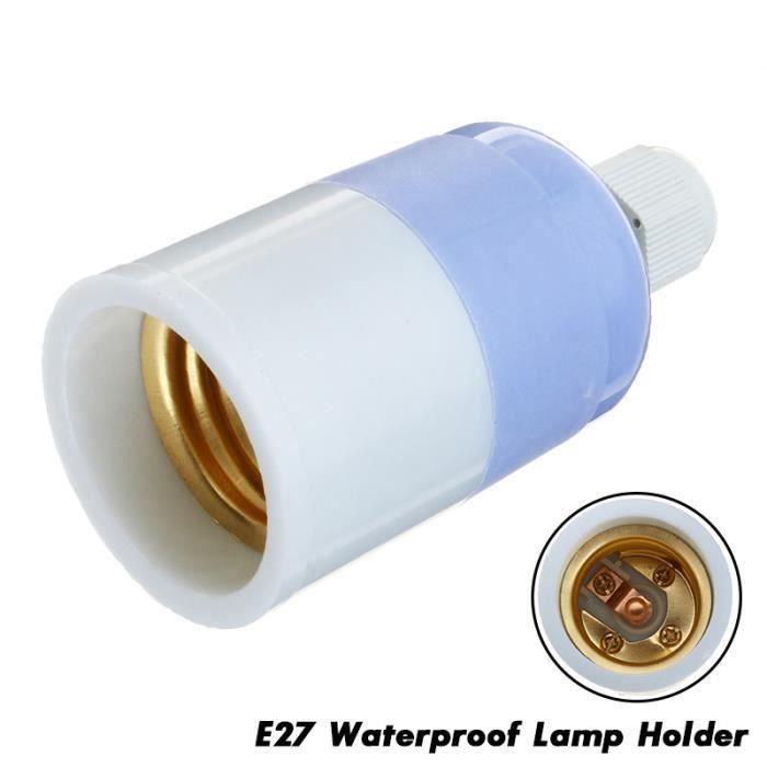 10Pcs E27 Douille ampoule étanche pr intérieur extérieur ens26686