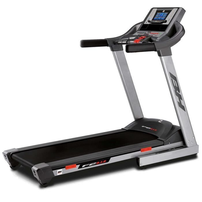 BH Fitness F2W DUAL G6473U Tapis de course - 18 Km/h - 135x5 cm - Écran tactile - Inclinaison 12% max - 8 ANS de garantie