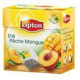 LIPTON Thé pêche à la mangue 20 sachets 36 g
