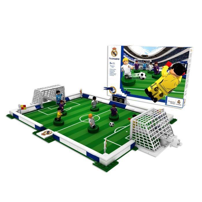 MEGABLEU NANOSTAR Terrain de foot à construire Real Madrid FA