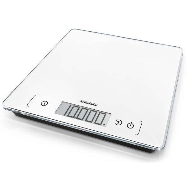 SOEHNLE - 61505 - BALANCE ELECTRONIQUE 10KG/1G - COLORIS BLANC