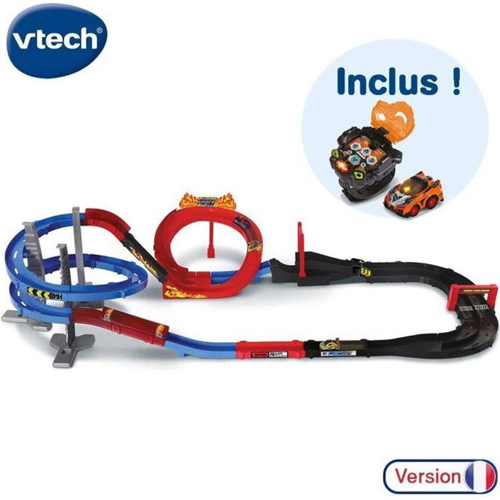 VTECH - TURBO FORCE - Méga Circuit Super Loop + Montre