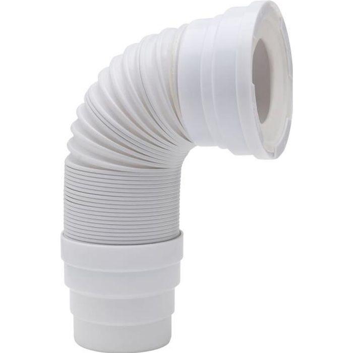 WIRQUIN Pipe extensible - Longueur 650 mm - Armature métal – Ø 93 / 100 / 110 mm