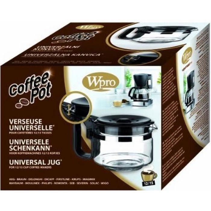 UCF100 WPRO Verseuse Universelle 12-15 Tasses