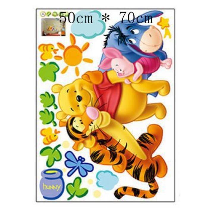 Décoration Maison 5 3d Bébé Ours Dessin Animé Winnie Ourson Maison Chambre Stickers Stickers Muraux Enfants Chambres Stickers