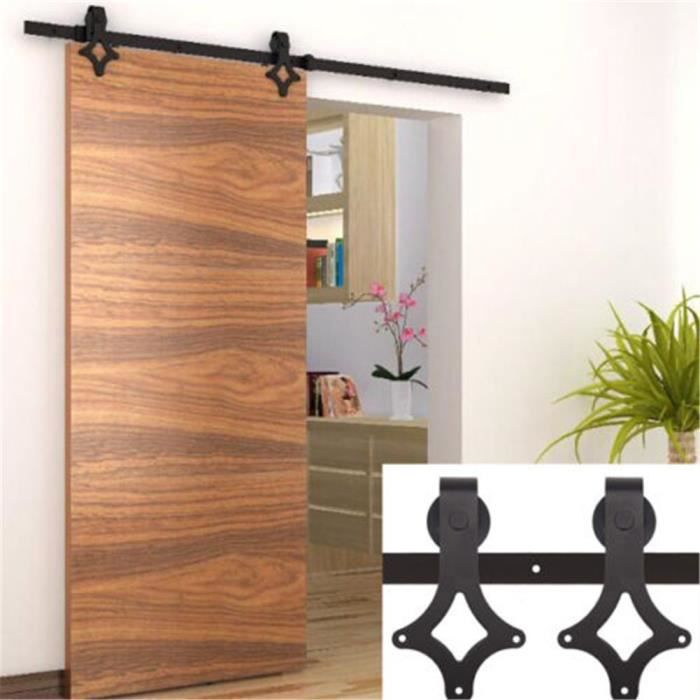 2m tringle rail porte coulissante suspendu syst me de voie. Black Bedroom Furniture Sets. Home Design Ideas