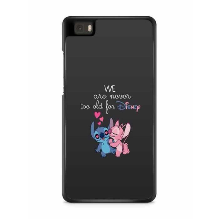 Coque Huawei P9 LITE Lilo Stitch Tortue love Ohana citation Disney ...