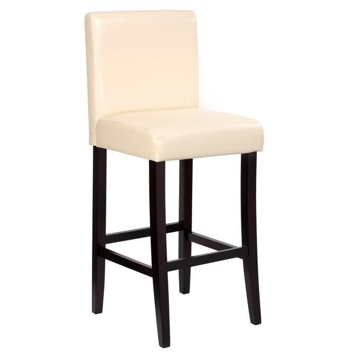 tabouret de bar couleur beige achat vente tabouret beige cdiscount. Black Bedroom Furniture Sets. Home Design Ideas