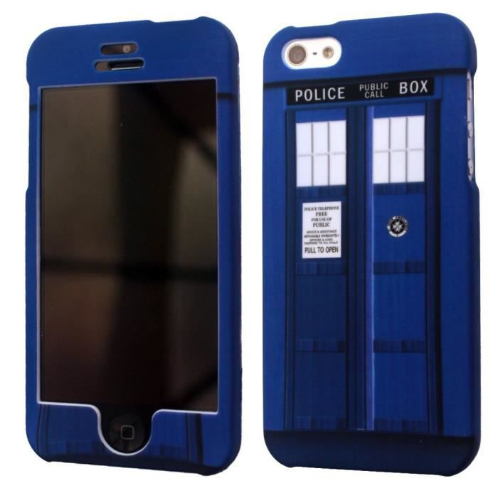 coque iphone 5 doctor who