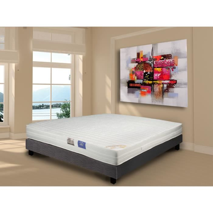 matelas 160x200 belle literie 100 latex achat vente matelas soldes cdiscount. Black Bedroom Furniture Sets. Home Design Ideas