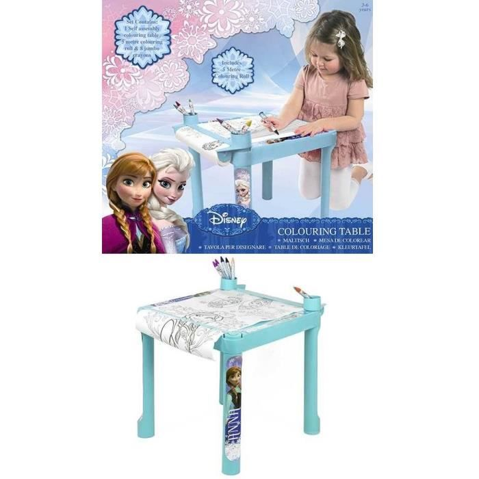 table coloriage reine des neiges disney frozen achat vente table jouet d 39 activit cdiscount. Black Bedroom Furniture Sets. Home Design Ideas