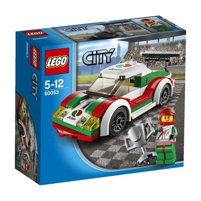 lego city 60053 la voiture de course achat vente assemblage construction cdiscount. Black Bedroom Furniture Sets. Home Design Ideas