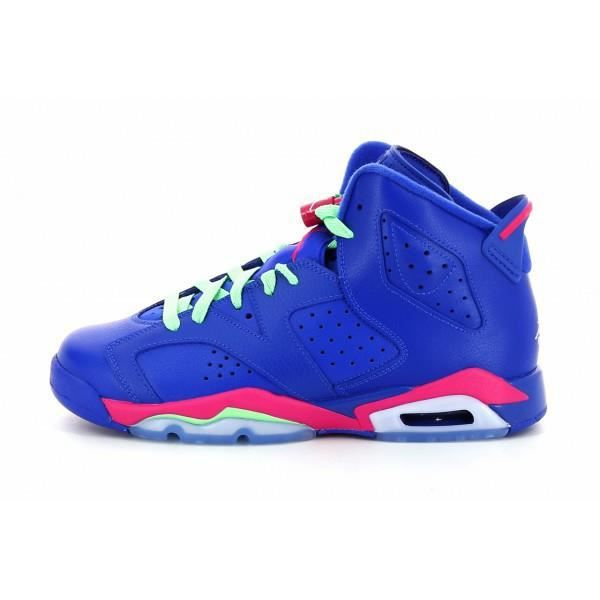 pretty nice 0e4be be4de BASKET Nike AIR JORDAN Retro 6 (GS) 54... Bleu