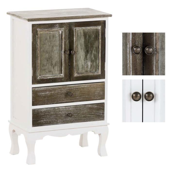 CLP Commode style maison de campagne, meuble shabby chic ...