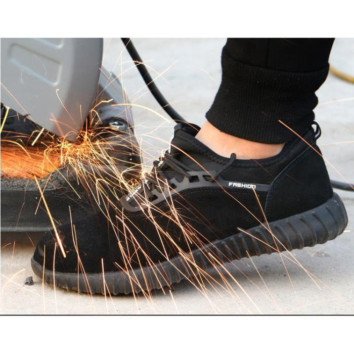 Chaussures De Securite Homme Pied Large Chaussure De Travail Hiver