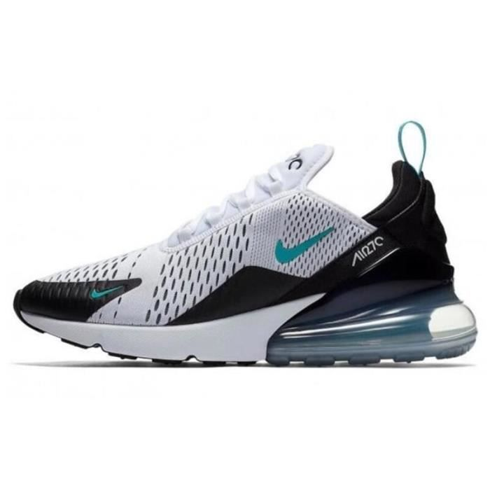 authorized site buy good sneakers Nike Air Max 270 Chaussure pour Homme Femme BLANC VERT - Achat ...