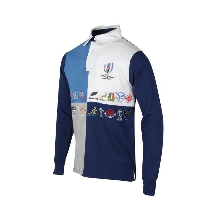 Polo Manches Longues 20 Nations Coupe Du Monde De Rugby 2019