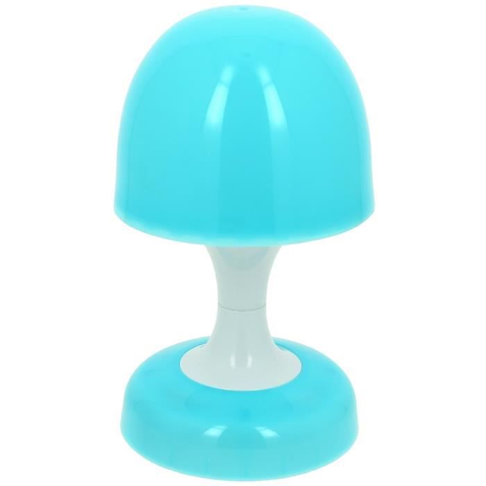lampe veilleuse tactile enfant champignon led p bleu achat vente veilleuse b b. Black Bedroom Furniture Sets. Home Design Ideas
