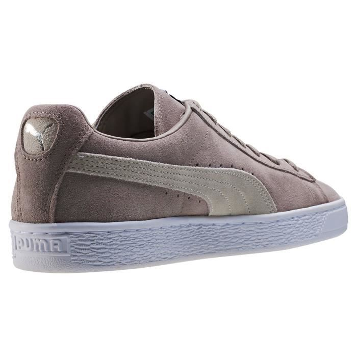 Puma Suede Classic + Hommes Baskets Taupe - 9 UK