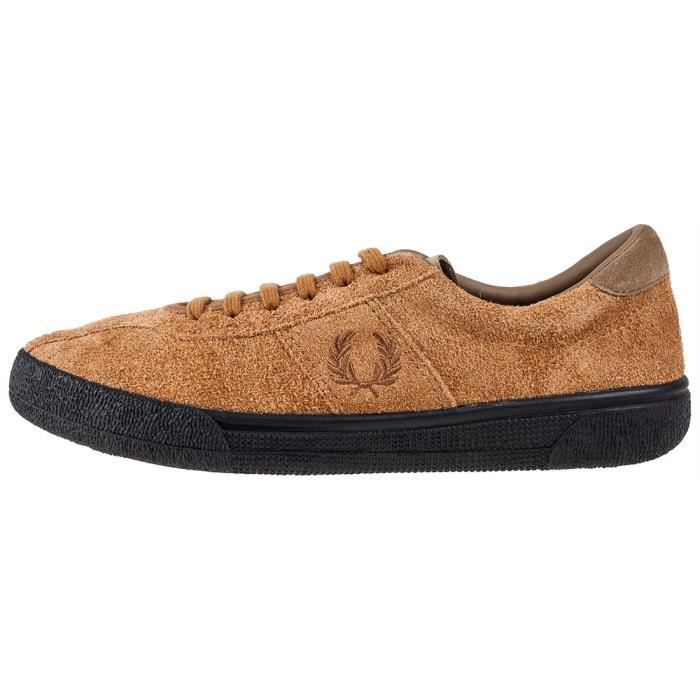 Fred Perry B1 Tennis Shoe Hommes Baskets Gingembre - 11 UK