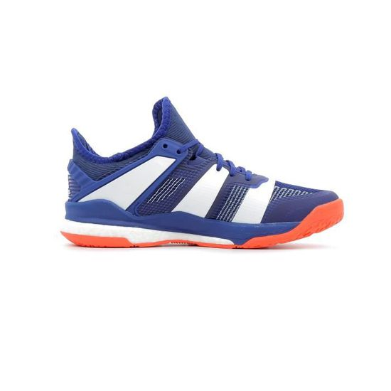 Chaussures de handball Adidas Stabil X coloris Mystery Ink - Footwear White  - Solar Red