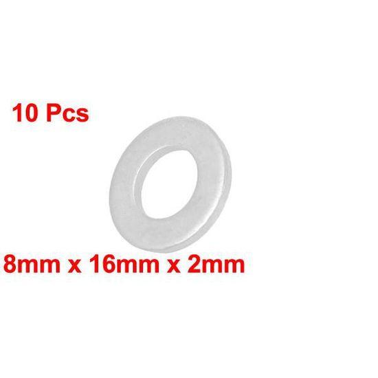 10 rondelles anti vibration d8mm acier neuf