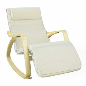 FAUTEUIL Relax Chair Avec Repose-Pied Réglable Rocking Chai