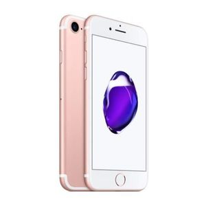 SMARTPHONE iPhone 7 256 Go Or Rose Reconditionné