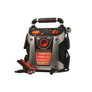 CHARGEUR DE BATTERIE Chargeur de batterie Black&Decker 500A 3en1 Starte