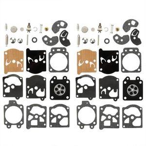 Lot de 2 C/·T/·S Joint de carburateur et kit de Membrane remplace Walbro D11-WB pour carburateur Dolmar 166 Walbro WB-24 WB-32