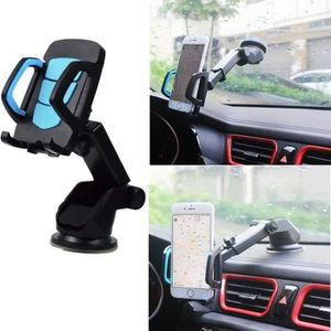 FIXATION - SUPPORT Support voiture telephone ventouse rotation 360 un