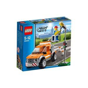 ASSEMBLAGE CONSTRUCTION LEGO City 60054 Le Camion de Réparation