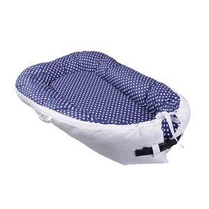 R/éducteur de Lit B/éb/é leegoal portable doux et respirant nouveau-n/é bassinet infantile housse amovible et confortable nouveau-n/é Cocoon Snuggle lit pour les nourrissons et les tout-petits 0-24 mois