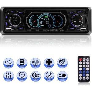 AUTORADIO Letouch Autoradio Bluetooth Poste Radio Voiture 4x