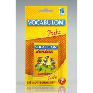 CARTE A COLLECTIONNER Vocabulon Junior Poche