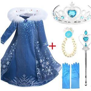 DÉGUISEMENT - PANOPLIE 2019 Nouveau Elsa Robe Cosplay Snow Queen Princess