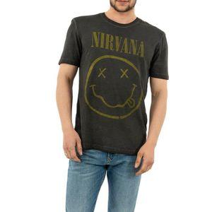 tee shirt nirvana gris
