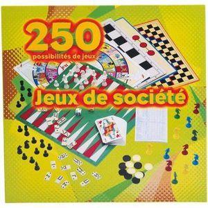 MALLETTE MULTI-JEUX Partner Jouet - Coffret - 250 Jeux Société