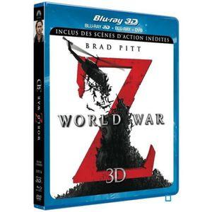 BLU-RAY FILM  World War Z [ Combo Blu-ray 3D + Blu-ray + DVD -