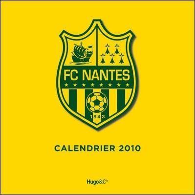 Calendrier mural fc nantes edition 2010 achat vente for Calendrier mural pas cher