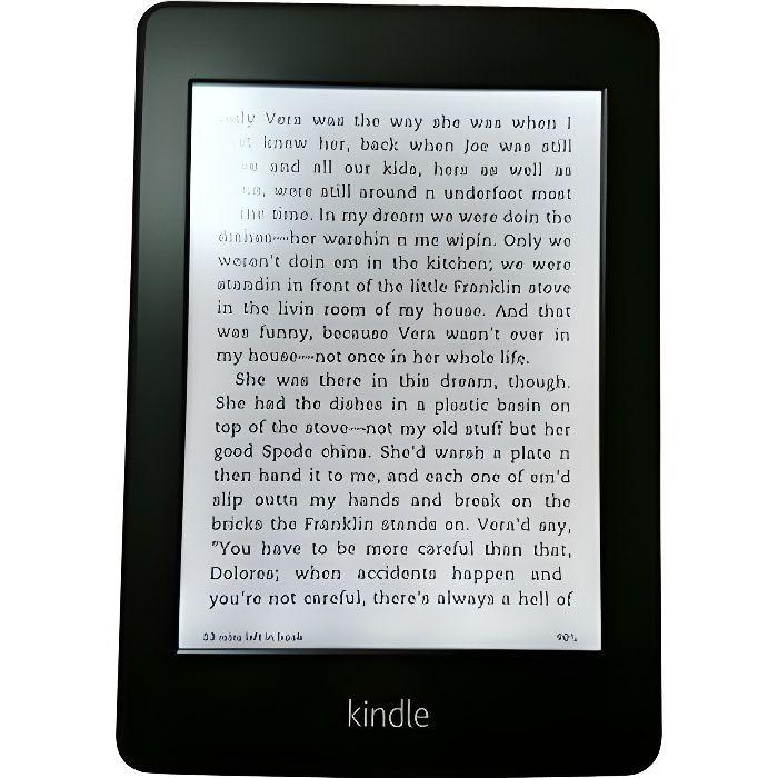 Amazon Kindle Paperwhite 3G Lecteur eBook 2 Go 6- monochrome Paperwhite écran tactile Wi-Fi 3G AT&T noir
