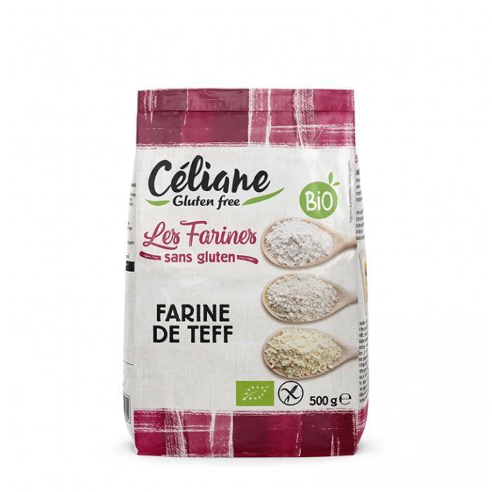 Farine teff (sans gluten) 500gr